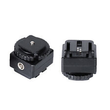 Hot Shoe Flash Socket Adapter Coverter For Nikon Canon Slr to Sony PC Sync Flash