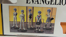 EVANGELION : REI AYANAMI SPECIAL BOXED FIGURINE SET OF 5 MADE BY SEGA IN 1997