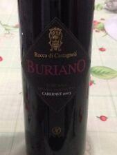 """6 BOTTLES CABERNET SAUVIGNON (TOP IN 2015) """" BURIANO """" 2010 ROCCA DI CASTAGNOLI"""