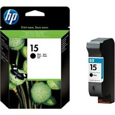 GENUINE SEP 2016 DATE HP 15 C6615DE 25ML BLACK CARTRIDGE 2 YEAR GTEE FASTPOSTAGE