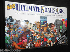 The Ultimate Noah's Ark by Mike Wilks - 1993-1st - Perfect Picture Puzzle Book