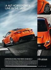 2015 Lexus RCF Coupe - Special 34 piece Special Order for Canada