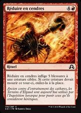 MTG Magic SOI - (x4) Reduce to Ashes/Réduire en cendres, French/VF
