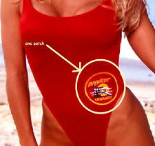 "NBC BAYWATCH LA LIFEGUARD SWIM SUIT BAY WATCH LA LIFEGUARD SWIM SUIT 4"" PATCH"