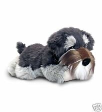 Keel Schnauzer Cute Dog Plush Soft Toy Grey 30cm Named Fergus SD5453