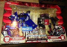 TRANSFORMERS Rotf SUPER TUNER THROWDOWN BLOWPIPE SIDEWAYS WALMART EXCLUSIVE New