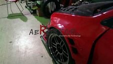 FRP VOLTEX CYBER EVO STYLE FRONT OVER FENDER FLARE FOR EVOLUTION EVO 7 8 9