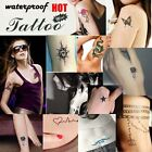 Fashion Body Art Removable Waterproof Temporary Tattoo Stickers Kitsch Party UK-