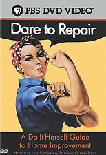 PBS's DARE TO REPAIR rare dvd HOME MAINTENANCE Improvement easy how to guide