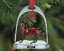 Noche Buena  Holiday Horse Stirrup Ornament ,  NEW by Breyer