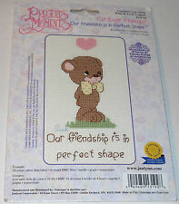 Precious Moments Counted Cross Stitch Kit Fur-Ever Friends Designs Gloria & Pat