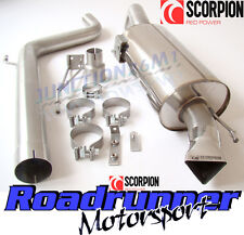 "Scorpion Corsa VXR Exhaust 3"" Cat Back Non Res Stainless System Louder SVXS054"