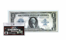 10 Large Dollar Bill Currency Sleeves - Money Holders - Protectors #200