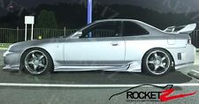 NEW 97-01 Honda Prelude Vader VS Style Side Skirts JDM USA CANADA FRP