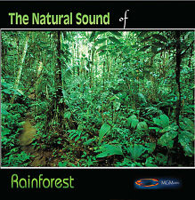 NATURE SOUNDS - RAINFOREST- new age - CD