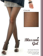 NEW ***** Blossom Gal ***** BLACK Stockings Hosiery Pantyhose Lingerie 9150