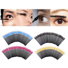 50X DISPOSABLE EYELASH WAND MASCARA BRUSH LASH EXTENSION APPLICATOR SPOOLER