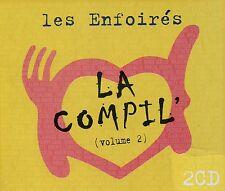 Les Enfoirés : La Compil volume 2 (2 CD)