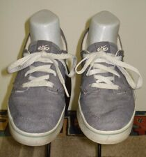 Women's Nike Six-O Casual Cool Skate Sneakers Blue Canvas Sz. 8 Excellent!