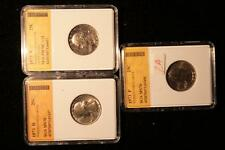 1973 Graded Quarter Set 1973S Pr70Cam, 1973P Ms70, and 1973D Ms70 in . Lot 2A