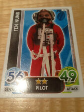 STAR WARS Force Awakens - Force Attax Trading Card #032 Ten Numb