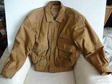 "Leather Jacket PAVIANO Italian Real Leather (Medium size 38-40 "" light brown)"
