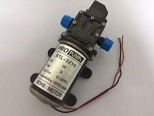 Small Electric Diaphragm pump Self-Priming 24V 80W 6L/min (1.6GPM) Head 60m 1MPa