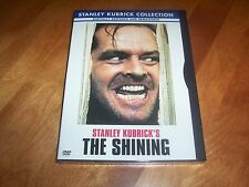 THE SHINING Jack Nicholson Stanley Kubrick Collection Shelley Duvall DVD NEW