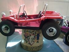 70's   VINTAGE cox gas  .049, MINTY  vw DUNE BUGGY /  RARE metalized   paint.!