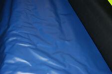 Imitación De Cuero Azul Pvc Vinilo Material De Tela Grano efecto de peso pesado 45
