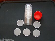 1 Capsule Tube & 20 H-40 Direct Fit Air-Tite Coin Holders for Silver Eagles