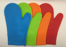 Silicone Oven Glove Cooking Baking BBQ Heat Resistant Potholder Mitten 1 PC
