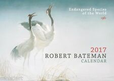 Robert BATEMAN 2017 BIG Calendar Brand New  Mint, awesome condition