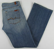 Womens 7 For all Mankind Boot cut jeans USA Made - Blue – Size 29