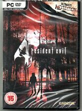 "Resident evil 4 hd ultimate ""new & sealed 'free p&p (pc-dvd)"