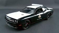 ACME DODGE CHALLENGER SRT8 TEXAS HIGHWAY PATROL W/ LED LIGHTBAR 1/18  A1806007