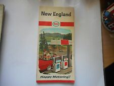 ancienne carte routière usa New England road map