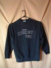 DISNEYLAND RESORT MICKY MOUSE 28 SWEATSHIRT, embroidered, M, black