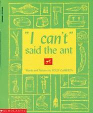 Kids fun paperback:I Can't Said the Ant by Polly Cameron-rhyming fun-ant,try,pie