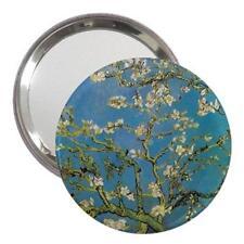 Van Gogh Almond Blossom Handbag Mirror