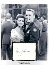 Van Johnson Autograph Thirty Seconds Over Tokyo A Guy Named Joe The Human Comedy