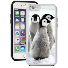 For iPhone SE 5 5s 5c 6 6s Plus Shockproof Hard Case Cover 1522 Penguin Chicks