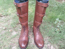 Vintage WW1, allemande WW2 officier de police réplique, tall riding boot uk 5 - 12
