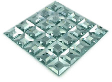 "Beveled Mirror Mosaic in Mirror Tile for Arts/Crafts or Home Decor 6x6""FREE SHIP"