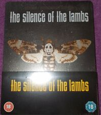 Silence Of The Lambs Steelbook Blu Ray - Sealed UK Brand New Rare OOP