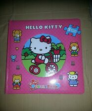 "Hello Kitty; My first puzzle book; large size appx 12"" x 12""; board  book"