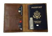 Leather Passport Cover & Wallet for Travel