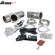 Fit For Nissan 3 Inch Exhaust Catback Turbo Electric Exhaust Cutout Performance