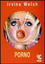 cartolina pubblicitaria PROMOCARD n.3599 PORNO ROMANZO IRVINE WELSH GUANDA