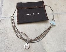 Jeanine Payer One-of-a-kind Sterling, Aquamarine & Rope 'Andrew' Custom Necklace
